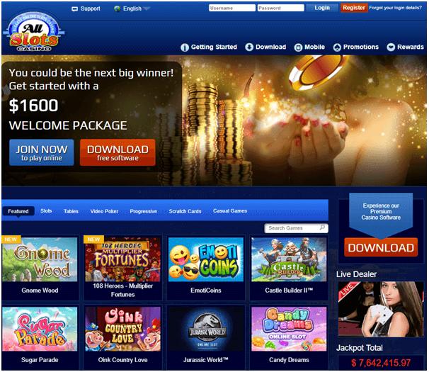 All slots casino spanish