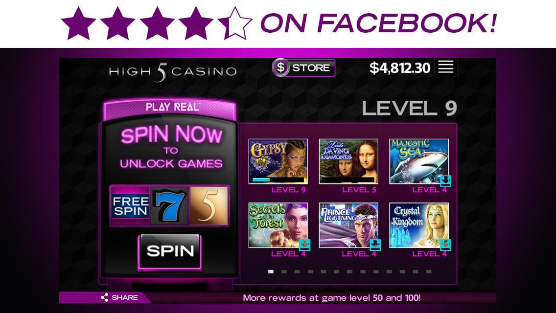 High 5 slots on facebook casino normandie 76