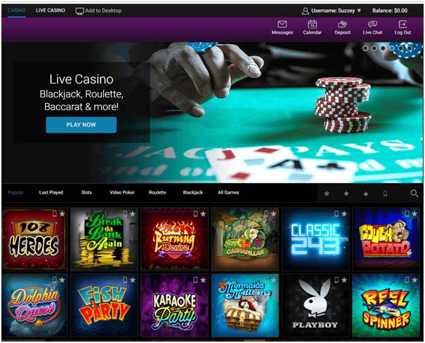 Jackpot City Casino-juegos