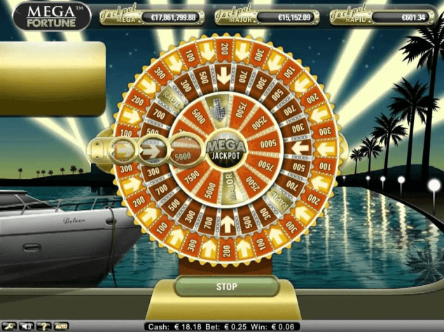 Juego tragamonedas Mega Fortunes Jackpot