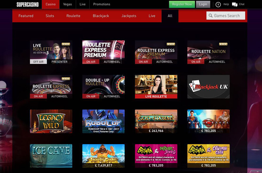 Super Casino para Chile