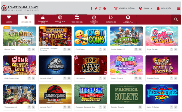 juegos-platinum play casino