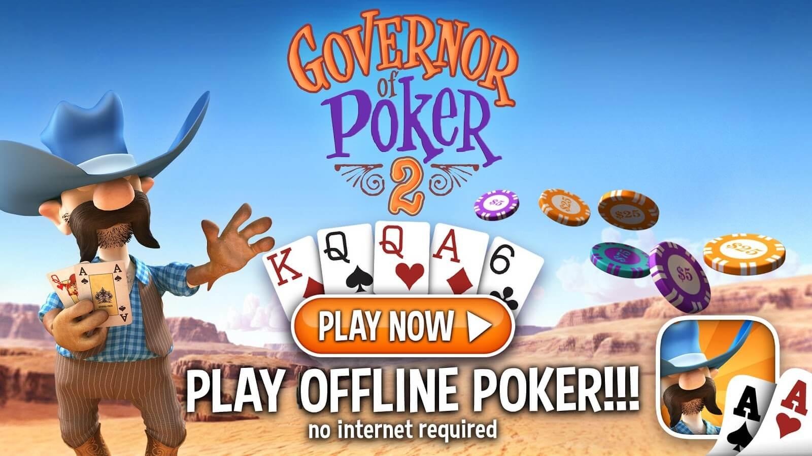 Governor of Poker 2 - Conoce mas de los juegos de casino sin internet