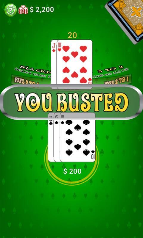 Black Jack - Conoce mas de los juegos de casino sin internet