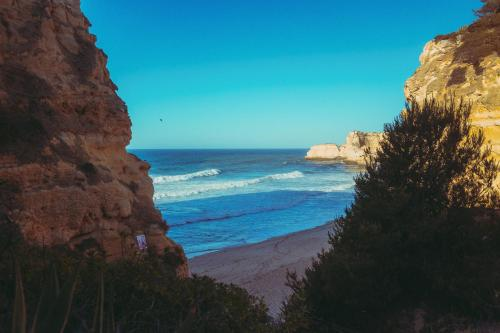 Morgenstimmung an der Praiha do Marinha