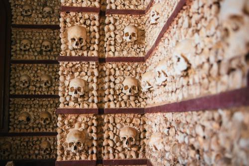 Capela dos ossos - Knochenkapelle in Faro