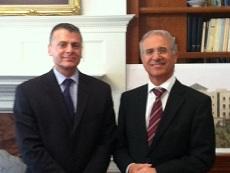 Dishler and Moroccan ambassador