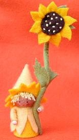Pippilotta-zonnebloemkabouter