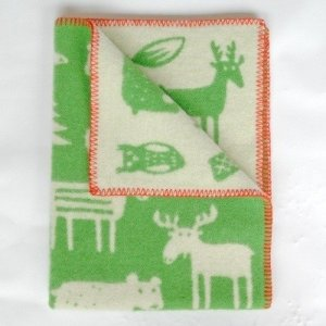 Klippan-wiegdeken-forest-groen