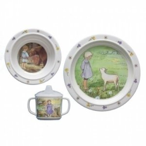 Kinderservies-elsa-beskow-Pelle