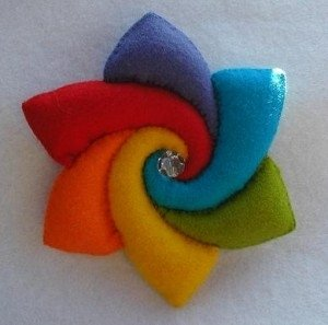 Pippilotta-regenboogbloem