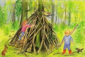 Marjan-van-Zeyl-hut-in-het-bos