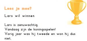 Lars wil winnen