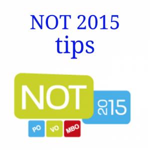 NOT 2015 tips