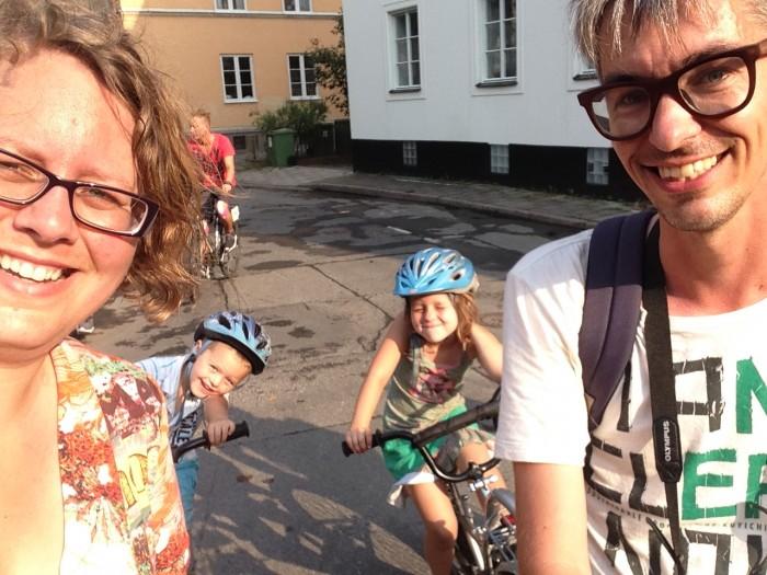 De foto is vorig jaar in Zweden gemaakt tijdens een fietstocht door Stockholm.
