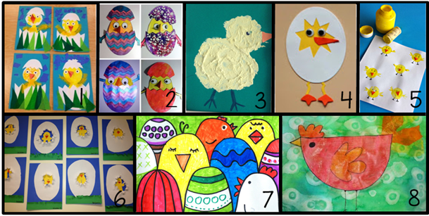 JufShanna: 8 leuke teken- en knutselopdrachten rondom kuikens