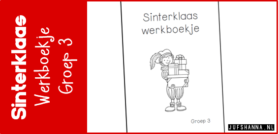 JUfShanna.nl | Thema Sinterklaas: werkboekje voor groep 3