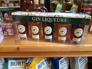 Assorted Gin Liqueurs from Riverside Spirits