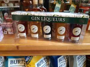 Assorted Gin Liqueurs from Riverside Spirits