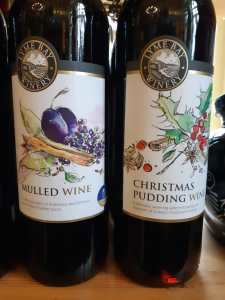 Mulled Wine and Christmas Pudding Wine