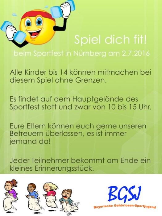 Plakat Sportfest