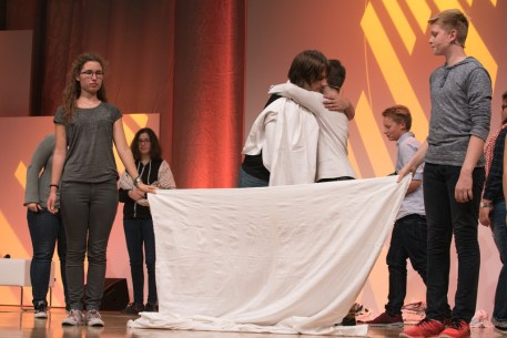 Präsentation der Jugendjury || © Foto: Ulf Cronenberg