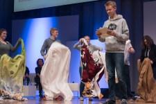 """Die Jugendjury gibt """"ihr"""" Preisträger-Buch bekannt.    © Foto: Ulf Cronenberg"""