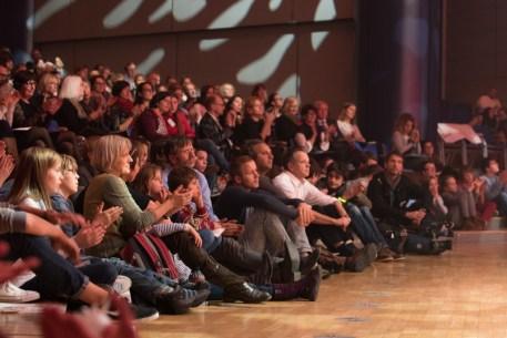 Das Publikum im Congress Center || © Foto: Ulf Cronenberg