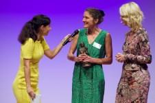Martina Wildner, Preisträgerin beim Kinderbuch || Foto: © Ulf Cronenberg