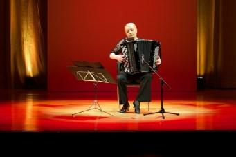 Finnischer Tango mit Akkordeonistin Heidi Luosuärvi || Foto: © Ulf Cronenberg