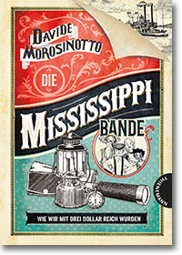 "Cover: Davide Mososinotto ""Die Mississippi-Bande"""