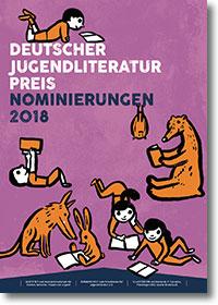 Plakat Deutscher Jugendliteraturpreis 2018