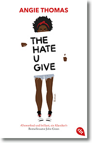 "Cover: Angie Thomas ""The Hate U Give"""