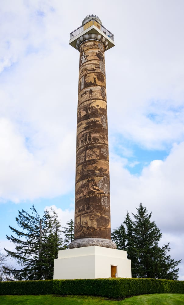 Astoria Column in Astoria Oregon