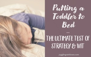 Putting a Toddler to Bed: The Ultimate Test of Strategy and Wit