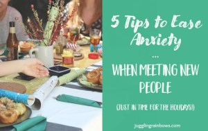 5 Tips to Ease Anxiety When Meeting New People