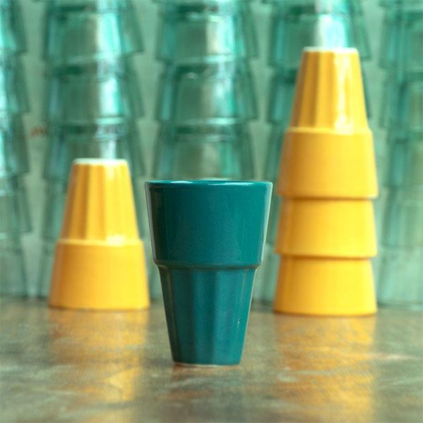 Basant-Bahar-4-pc-Set-of-Ceramic-Chai-Glasses--Jugmug-Thela