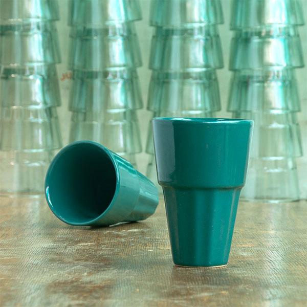 Handmade-Chai-Glasses-Bahar-Teal-Gorgeousness-Ceramic