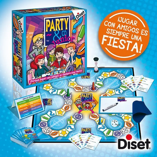 juego party & co. Junior disset 10103