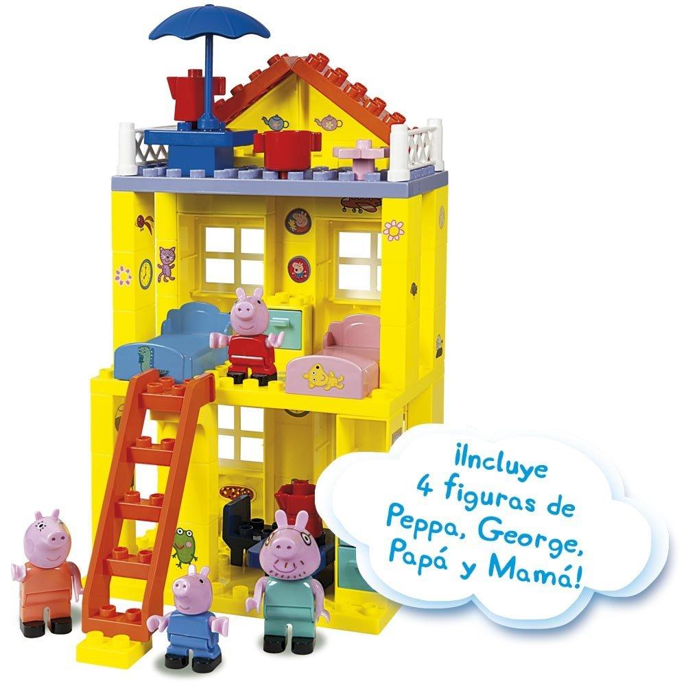 Peppa Pig Construcciones la casa nueva