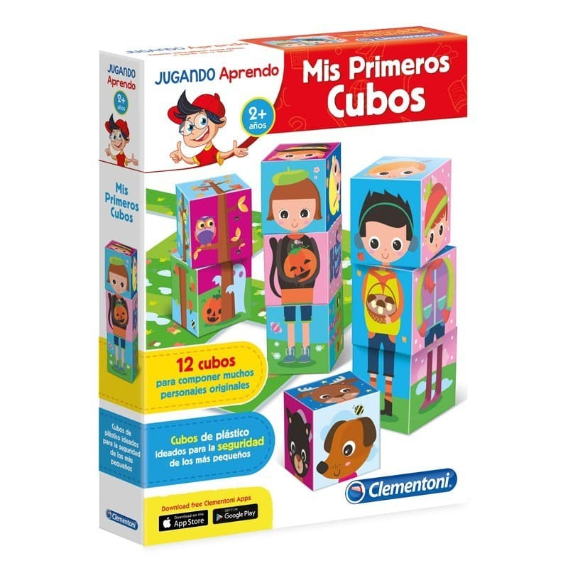 mis primeros cubos