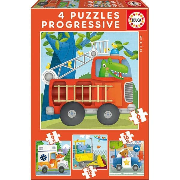 puzzles progresivos patrullas de rescate