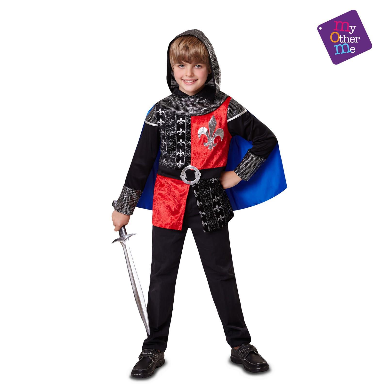disfraz caballero medieval 7-9