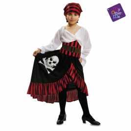 disfraz pirata niña con bandana talla 7-9 años