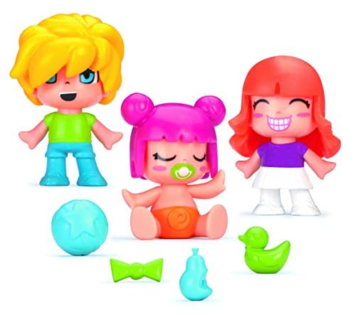 pinypon pack 3 figuras