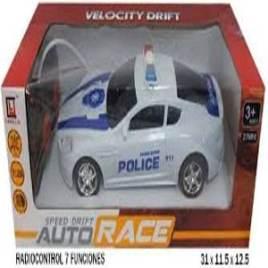 Coche Policia Radio Contro