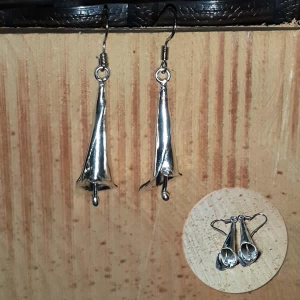 海芋戀│銀飾耳環