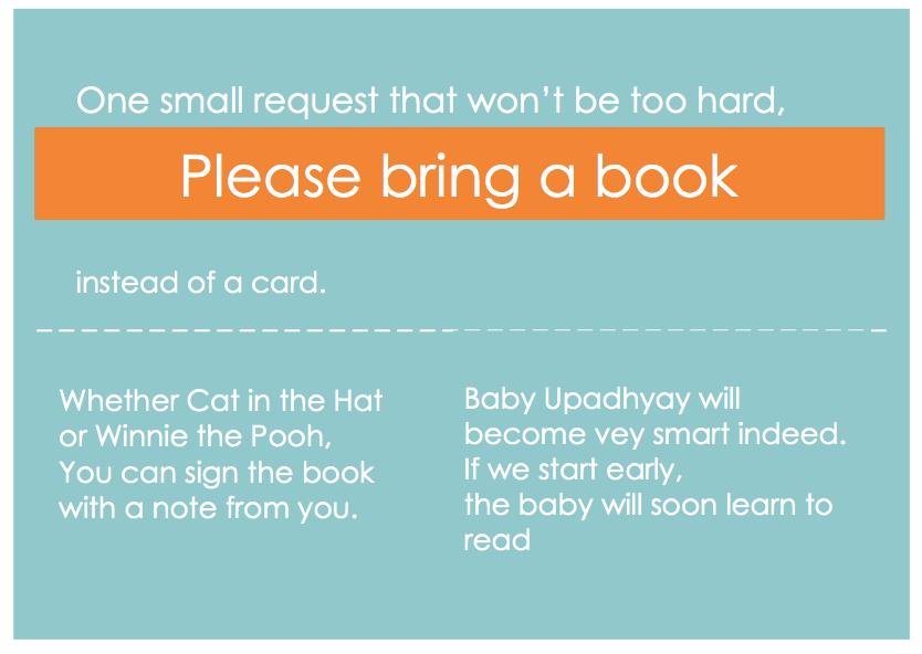 Bring a Book!