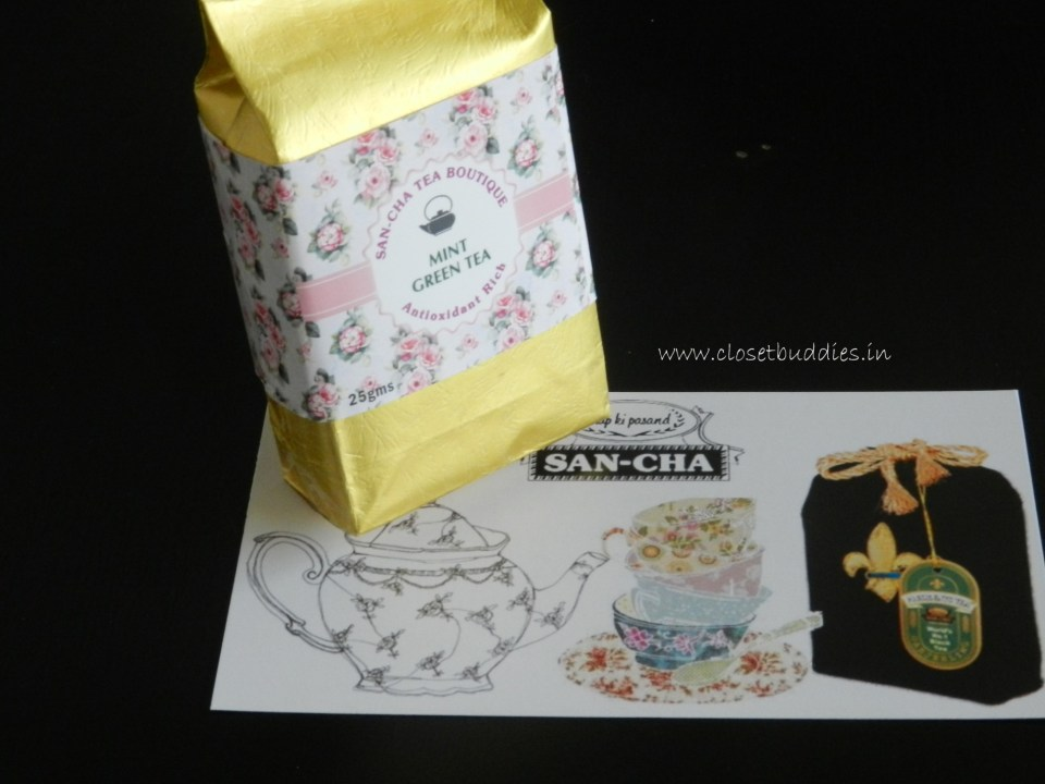 San-cha Mint Green Tea