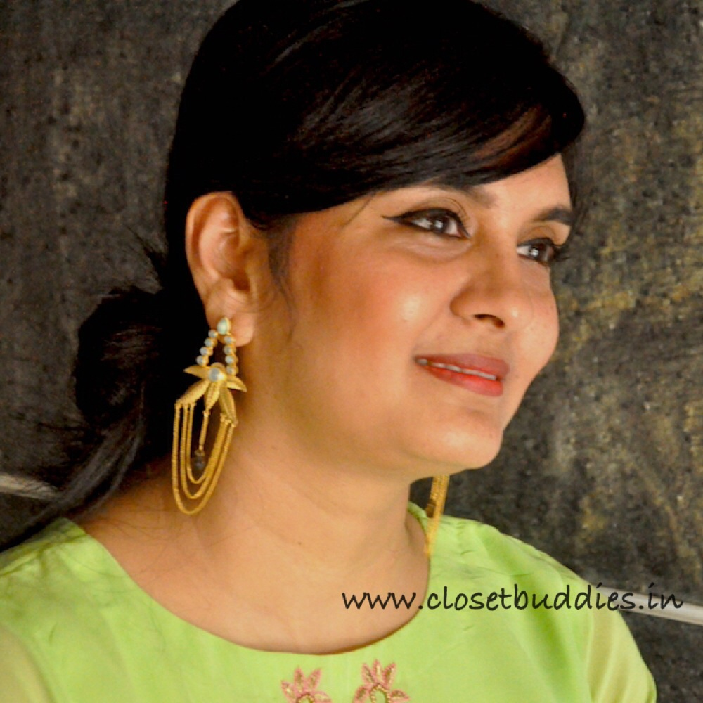 Earrings: Amrapali, Jaipur